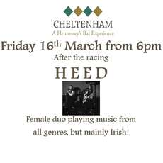 Heed - Live Irish Music after the Gold Cup at Hennessey's Bar on 16