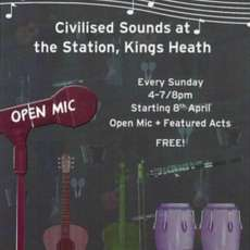 Civilised Sounds @ The Station at The Station, Kings Heath on 8 Apr 2018