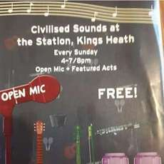 Civilised Sounds at The Station, Kings Heath on 19 Aug 2018